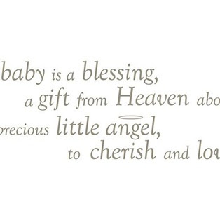 Baby Is A Blessing A Gift From Heaven About Precious Little Angel To