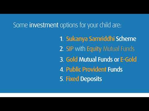 Long Term Investment Options to Financially Secure a Child's Future