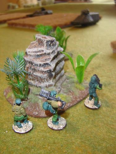 Anti-Armour team takes aim