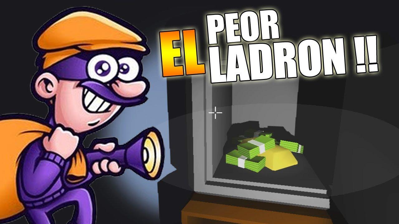 EL PEOR LADRÓN DEL MUNDO | Un ladrón muy organizado (The very organized thief) - YouTube