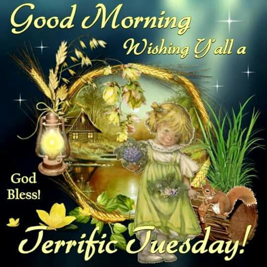 Good Morning Wishing You A Terrific Tuesday God Bless Pictures