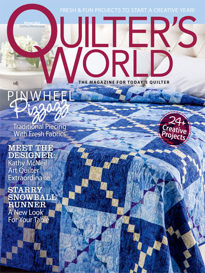 Quilter's World Winter 2013