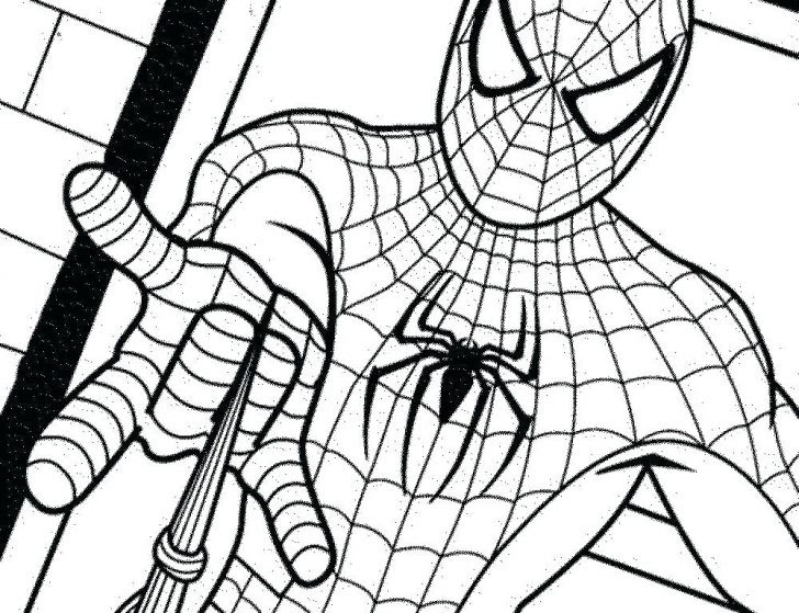 9900 Top Spiderman Symbol Coloring Pages Pictures
