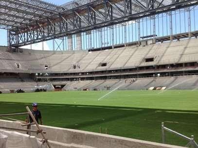 Arena da Baixada é o estádio mais atrasado da Copa Foto: Facebook / Reprodução