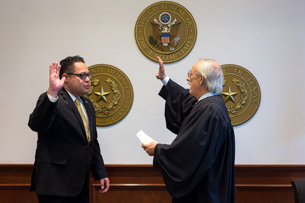 Narvaez sworn in