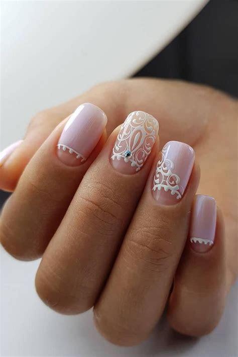 The Best Wedding Nails 2019 Trends   Nail art   Wedding
