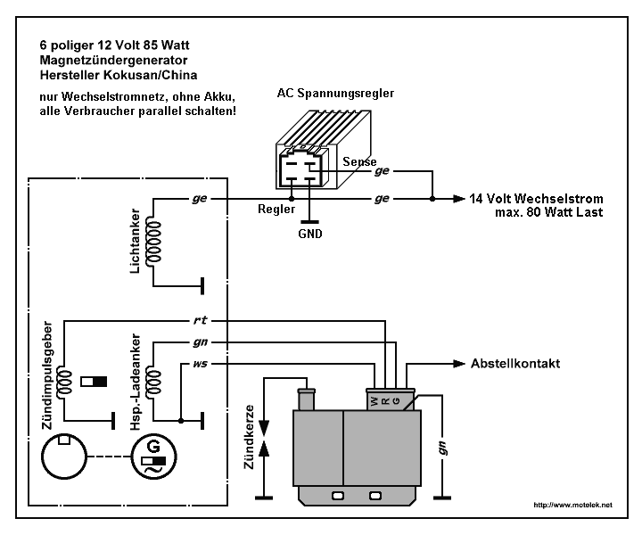 iskra alternator wiring diagram