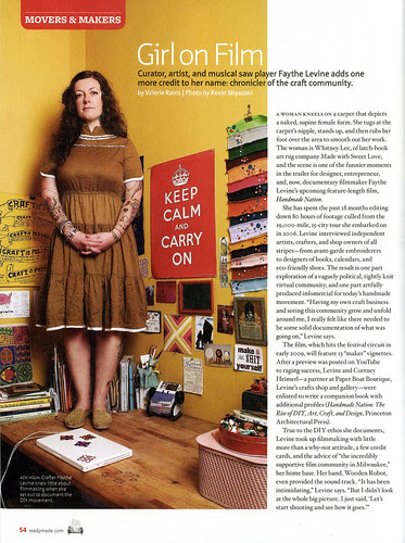 Readymade Magazine feature