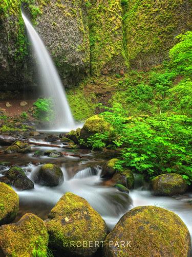 """""""Ponytail Falls""""By Robert Park http://www.robert-park.com by Robert Park Photography"""