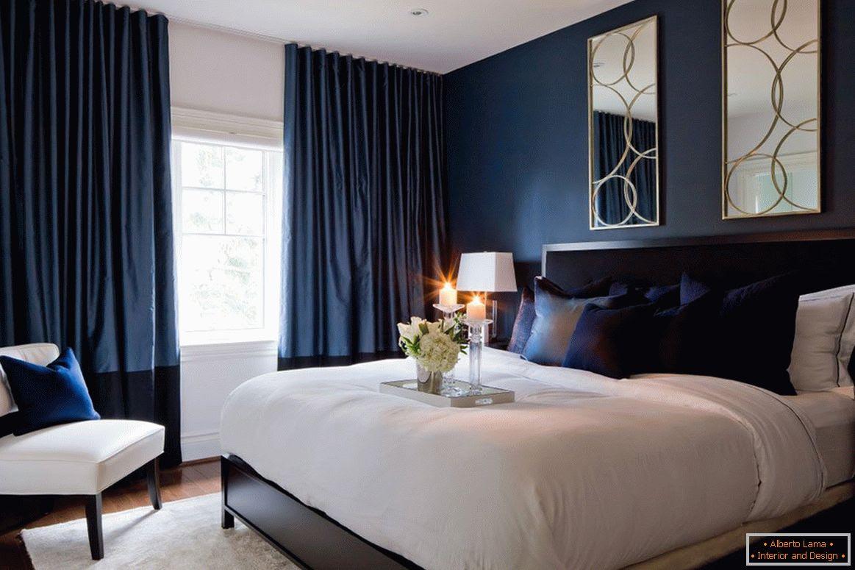 schlafzimmer farben blau