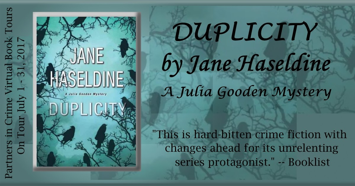 The Book Diva's Reads: Book Showcase: DUPLICITY By Jane