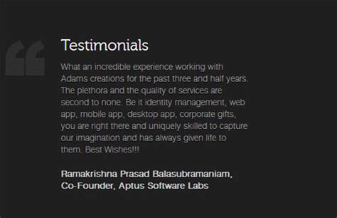 15 Awesome Client Testimonial Designs   Web & Graphic