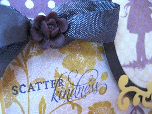scatter sent close-up