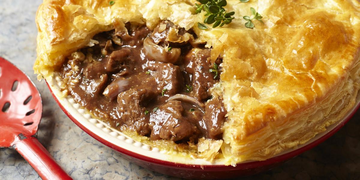 Recipe | steak, dark ale and stilton pie | InDaily