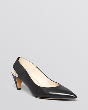 French Connection Kourtney Pointed Toe Slingback Pump