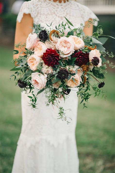 Sara   Ben: Stylish Fall Wedding in Nashville   Rosemary