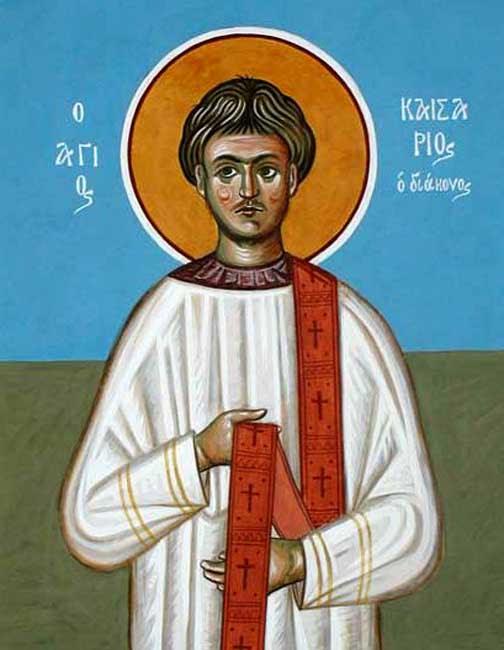 IMG ST. CAESARIUS, Deacon