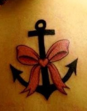 Bow And Anchor Tattoo Tattoomagz