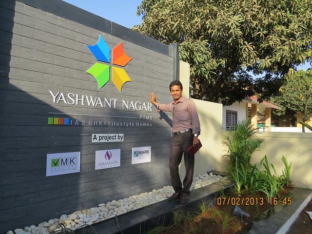Abhijeet Deshpande, Head Business Development, Webamos E-Media Technologies at Yashwant Nagar Plus, 1 BHK & 2 BHK Flats at Yashwant Nagar, Varale, Talegaon Dabhade, Taluka Maval, District Pune