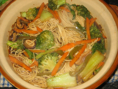 claypot noodle