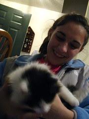 Kristin with Bandit, now Zack