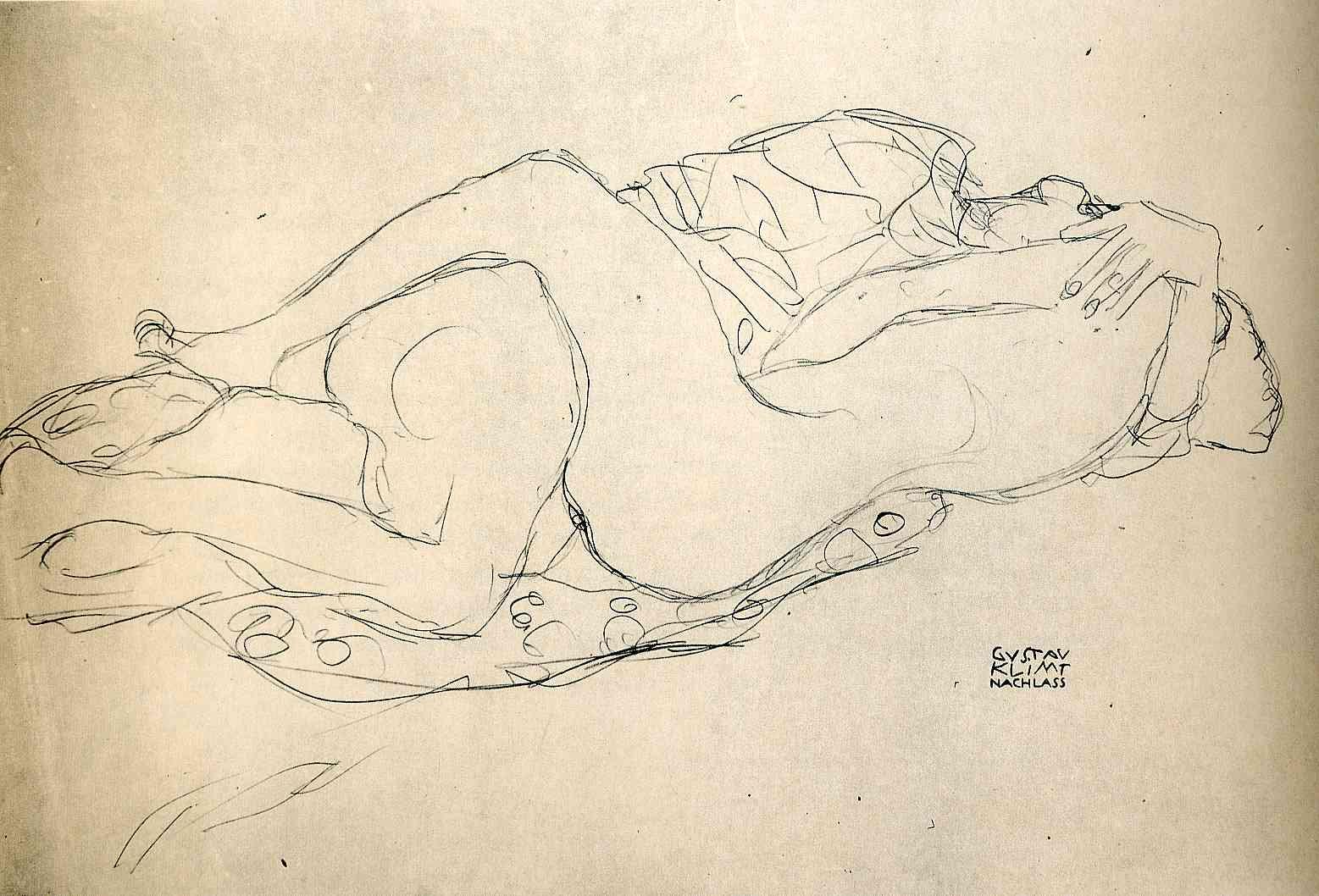 Gustav Klimt erotica sensual21