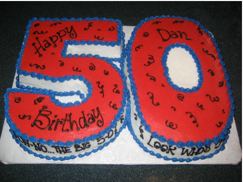 50th Birthday Party Ideas On Cake Fun