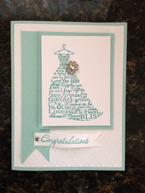 Stampin up bridal shower card.   DIY & Crafts   Bridal