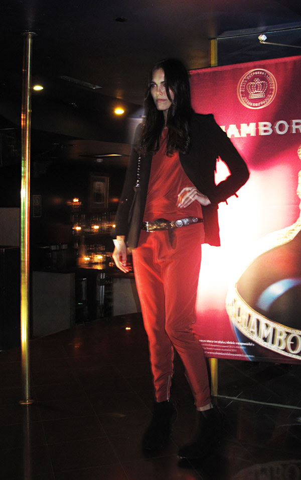 Red Pants Suit, Zipporra and Love & Luck at The Club 2010, Street Fashion Sydney