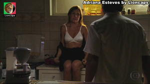 Adriana Esteves sensual na novela Avenida Brasil