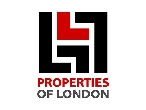 properties  london logo design clinton smith design