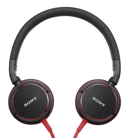 Sony MDR-ZX600 Headphones red