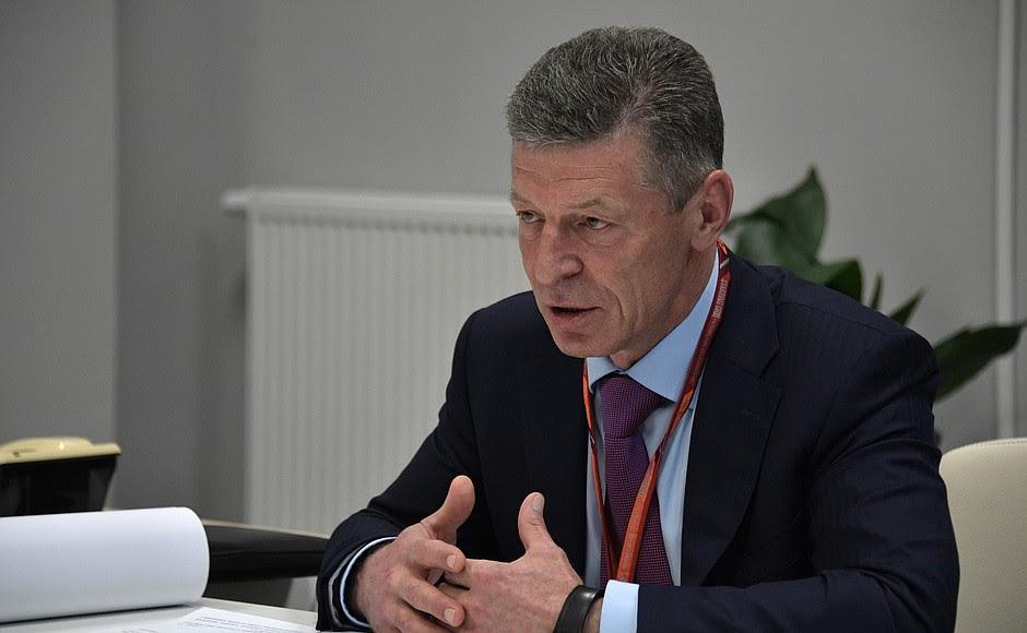 Deputy Prime Minister Dmitry Kozak.