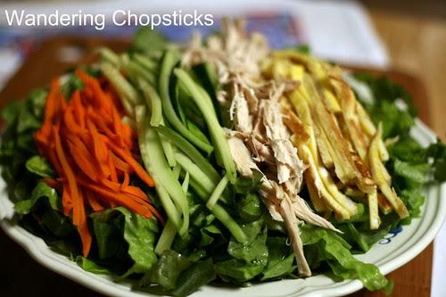Jaengban Gooksu (Korean Cold Buckwheat Noodle Salad) 6