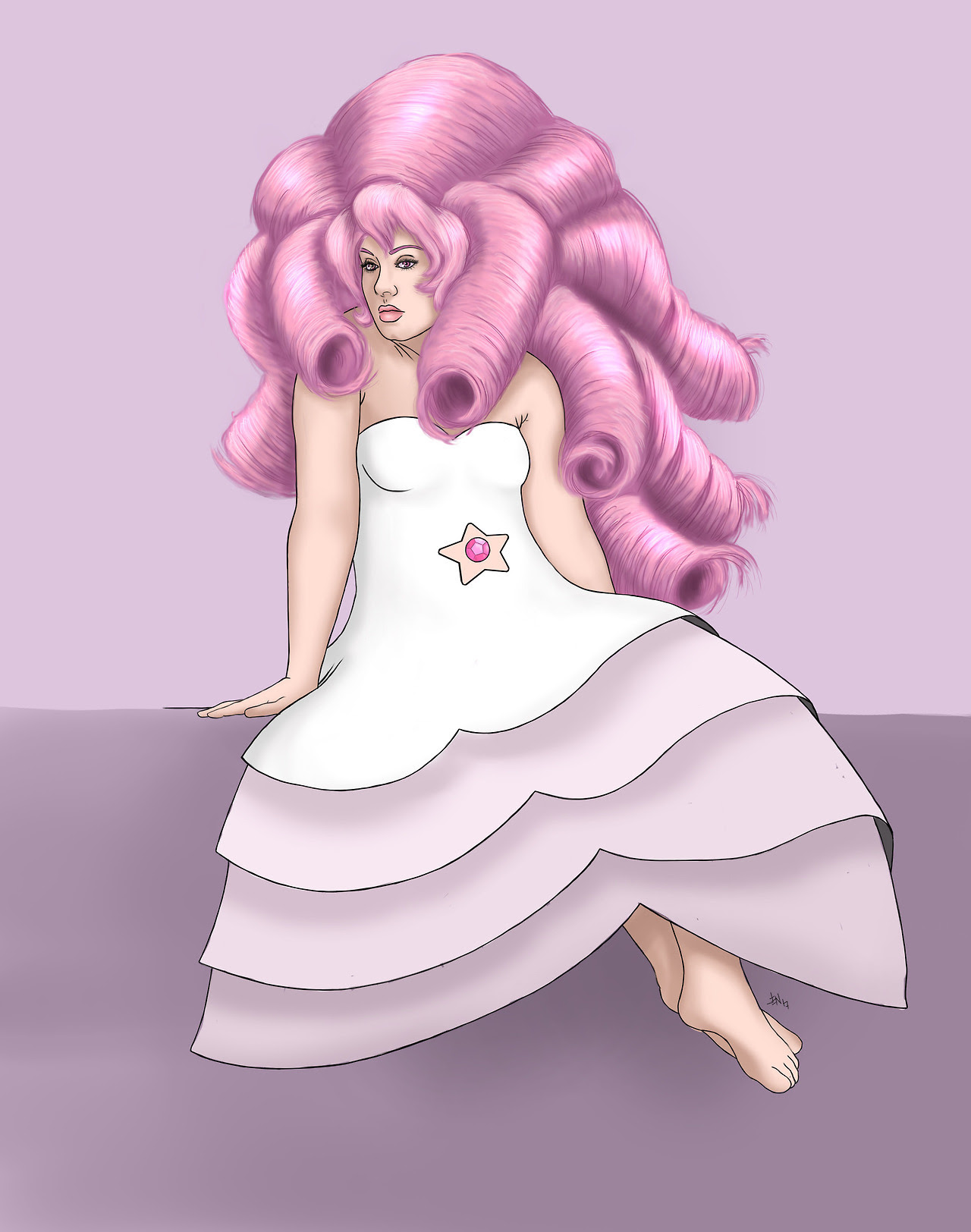 Rose Quartz (My commissions are open)