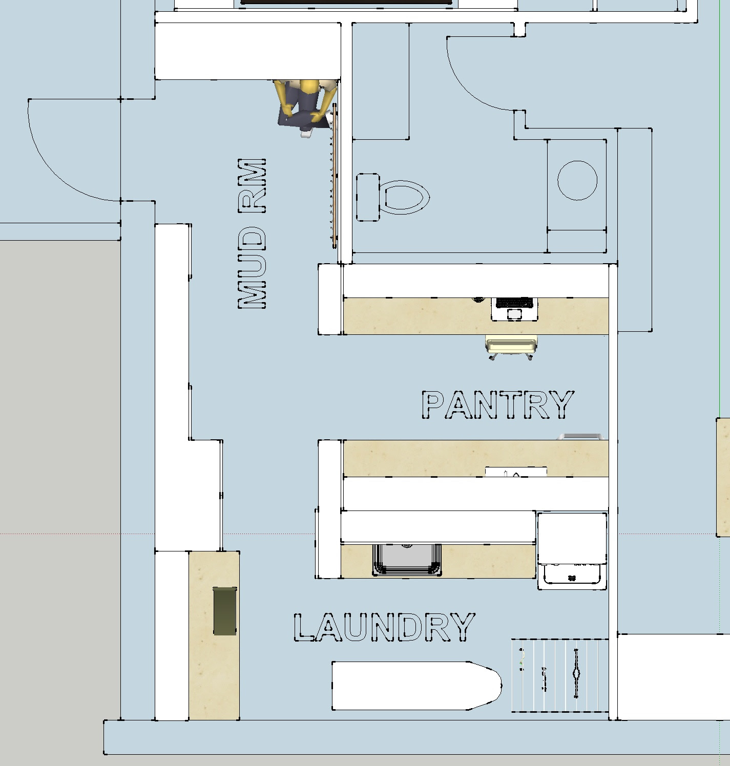 Bathroom Floor Plan With Laundry Home