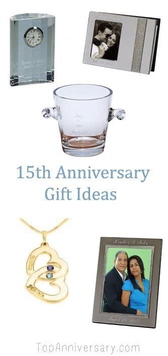 15 Year Wedding Anniversary Gift Guide