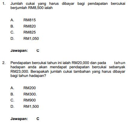 Contoh Soalan Penolong Pegawai Tadbir N29 (Rujukan