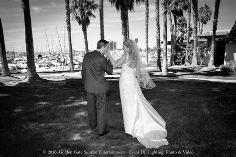 Marina Village South Lawn Wedding Ceremony & Starboard