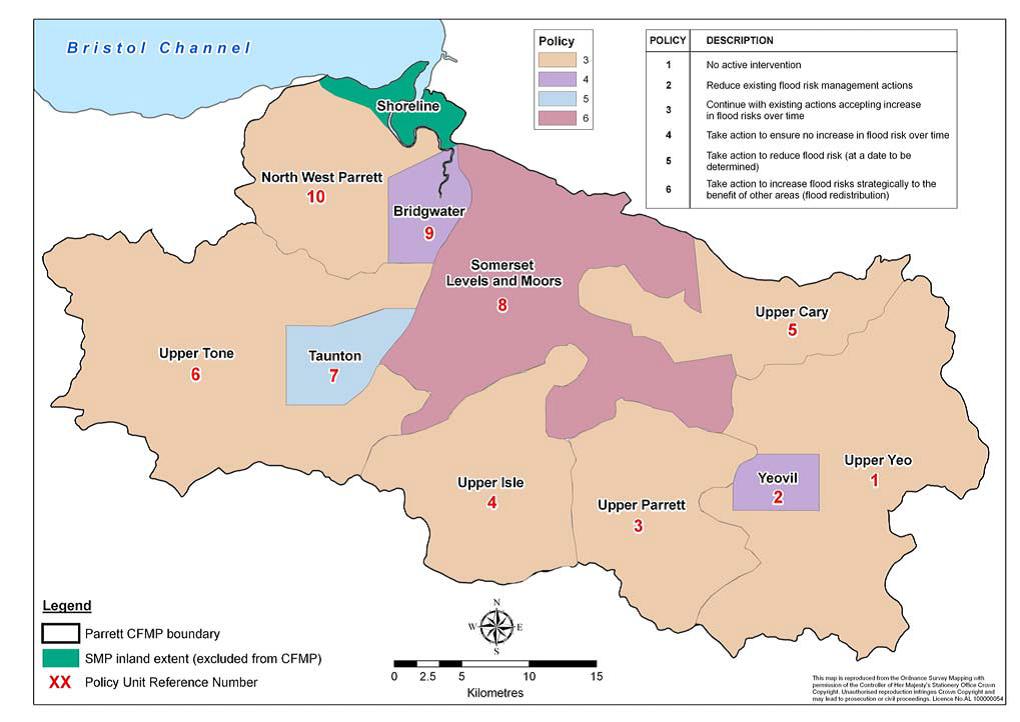 Somerset Levels Flooding Map Somerset Levels Flooding Map | Color 2018
