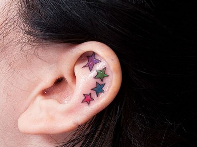 55 Excellent Mini Ear Tattoo Designs Meanings Powerful Ideas 2018