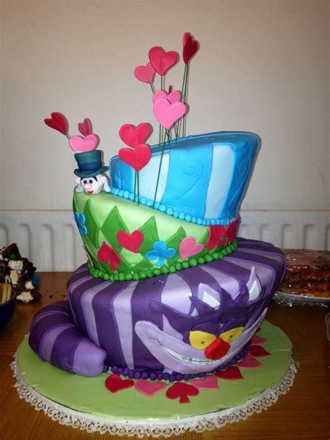 Mad Hatter Cake   Kiki's Cakes   Pinterest