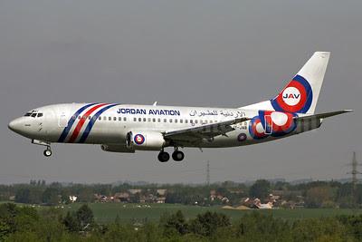 Jordan Aviation Boeing 737-33A JY-JAB (msn 23630) LGG (Rainer Bexten). Image: 908338.