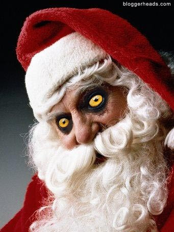 That would be one scary Santa!