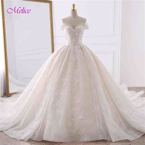 Princess Wedding Dresses Ball Gown Bridal Dress   Lalbug.com
