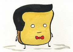 Mr Toast as Pee Wee Herman