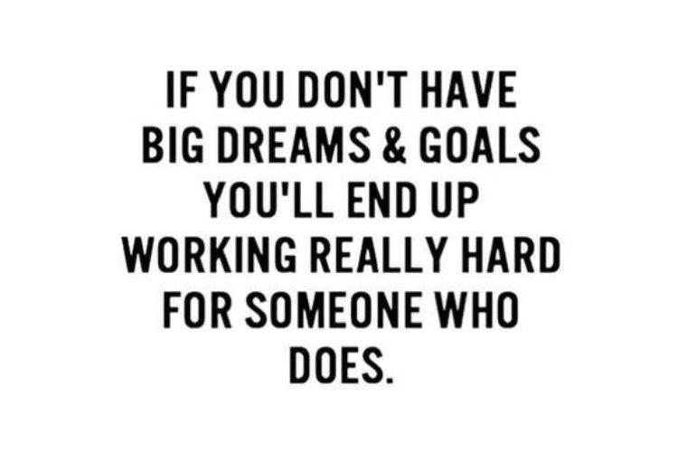 Big Dreams And Goals Funny Pictures Quotes Memes Funny Images