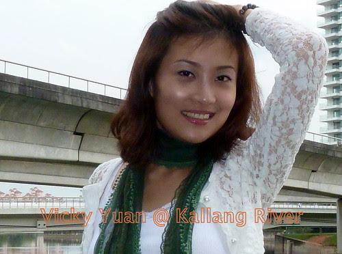 Chinese Model & Actress Vicky Yuan