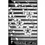 """Stempel """"Thinking of you"""" ASIATIC"""