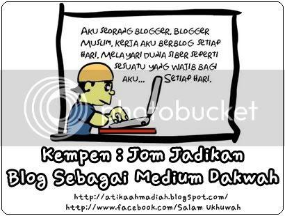 Blog, Blog Dakwah, Kempen Dakwah, Blog dan Dakwah, Blog Islam, Tujuan Blogging, Media Dakwah, Blog Media Dakwah, Salam Ukhuwah
